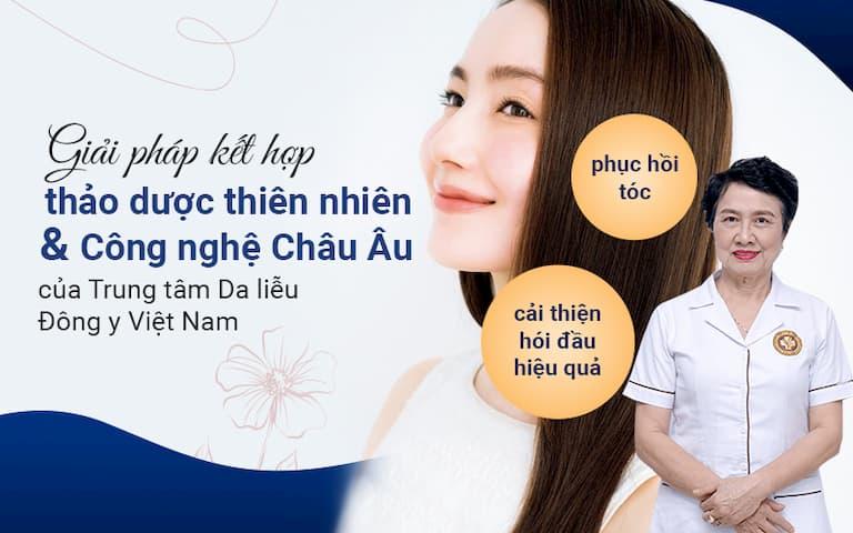 Giai pháp điều trị rụng tóc tại Trung tâm Da liễu Đông y Việt Nam được nhiều khách hàng lựa chọn nhờ sự an toàn và hiệu quả