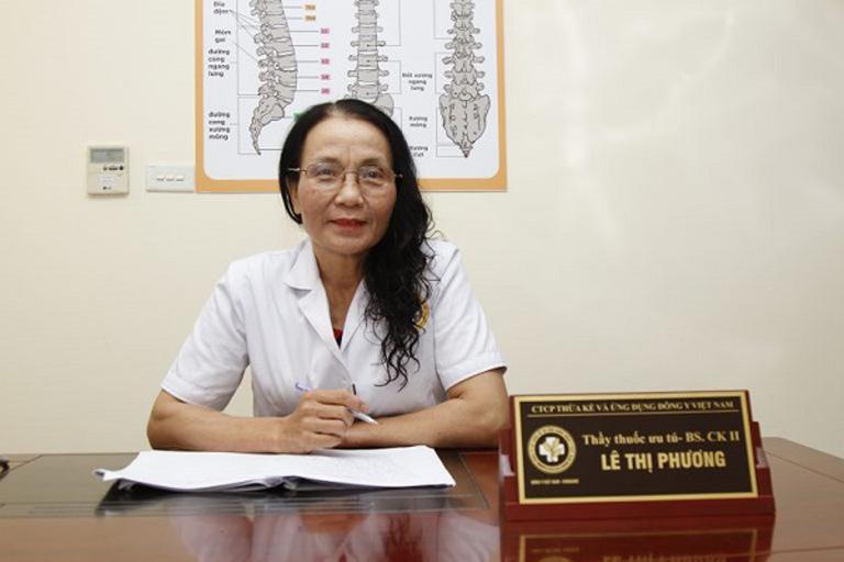 Bác sĩ Lê Thị Phương đánh giá cao phương pháp điều trị rụng tóc kết hợp của Trung tâm Da liễu Đông y Việt Nam