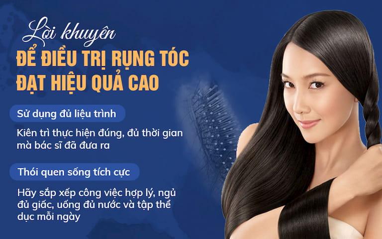 Lời khuyên để điều trị rụng tóc đạt hiệu quả cao