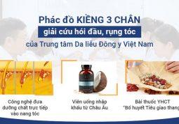 Phác đồ điều trị rụng tóc tại Trung tâm Da liễu Đông y Việt Nam