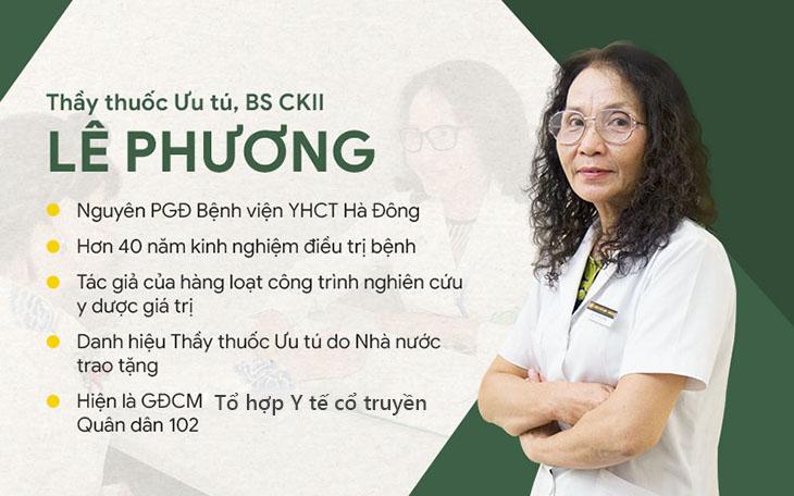 Bác sĩ Lê Phương có kinh nghiệm và chuyên môn sâu rộng