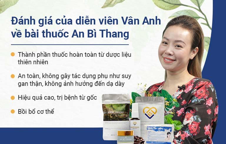 Diễn viên Vân Anh đánh giá cao bài thuốc An Bì Thang